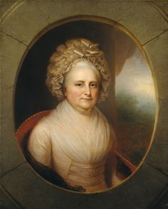Martha Washington by Rembrandt Peale   Art Posters & Prints
