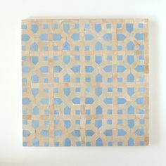 Zellige Mosaic EZR0203CS – TILES OF EZRA Moroccan Tiles, Painting Patterns, Mosaic Patterns, Sheet Sizes, Mosaic Tiles, Your Space, Accent Decor, Delicate, Hand Painted