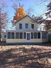 'Sylvan Sands' Vintage  Beach House - Beachfront -  the 'Best Spot on Beach' Vacation Rental in Oneida Lake from @homeaway! #vacation #rental #travel #homeaway
