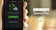 Grab absolutely free subscription to #Saavn Pro that offer High quality #music listening, Unlimited Music Downloading, No ads, ever and that's worth Rs 440.  #India #Music #Bollywood #Tamil #Songs #Giveaway