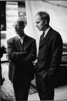 The Achitects Jacques Herzog and Pierre de Meuron