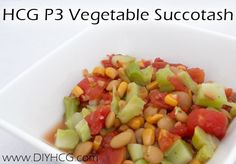 Eat your veggies! This HCG P3 recipe will help you get in your vegetable servings while on Phase 3 of the HCG Diet. www.diyhcg.com
