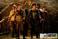 """The Maze Runner   Book series by James Dashner   #film #movie #still AAAH PUICTURES!! I""""M DYING"""