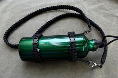 Paracord Water Canteen-Bottle Lanyard / Survival strap US 550 paracord