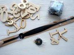 Beautiful DIY clocks that are seen in the picture (still on the making). Gonna make one soon :D