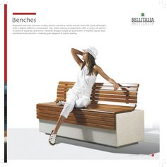 Benches #Bellitalia street furniture - arredo urbano