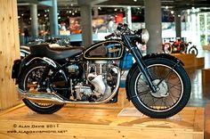 Velocette motorcycle from the Barber Motorsport Museum in Birmingham, Alabama