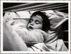Toddler Anne, sleeping