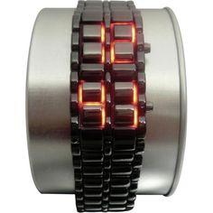 Science Fiction LED armbåndsur