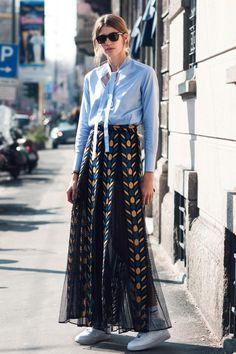 Veronika Heilbrunner - Style Editor at Harper's Bazaar Germany, PFW, Paris Fashion Week, MFW, Milan Fashion Week