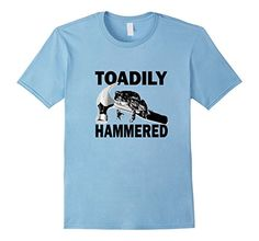 Men's Toadily Hammered (Totally Drunk Frog Hammer) Funny ... https://www.amazon.com/dp/B06XB7QFL8/ref=cm_sw_r_pi_dp_x_wloTybB379AKD