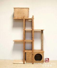 원목 캣타워 cat tower