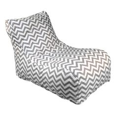 Chevron Lounger in Ash - Lunalee Home on Joss and Main