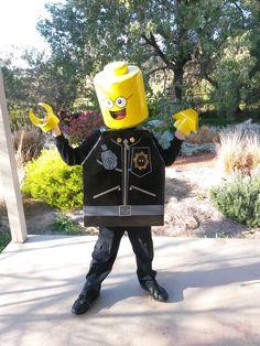 Good cop bad cop Lego Movie costume