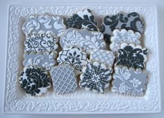 Black and White Cookies: Sweet Creations by Debbie