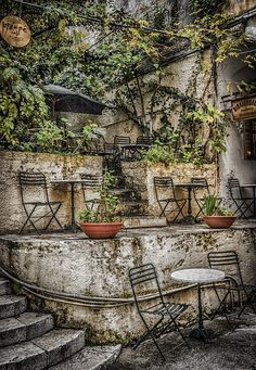 Corfu Town Cafe 1 by Paul & Helen Woodford on 500px