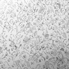 People on phones detail of a larger pic Phones, Larger, Cartoons, Detail, People, Cartoon, Cartoon Movies, Telephone, People Illustration