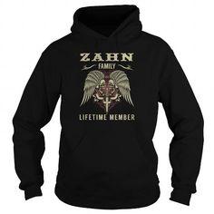 Awesome Tee ZAHN Family Lifetime Member - Last Name, Surname TShirts T-Shirts #tee #tshirt #named tshirt #hobbie tshirts #zahn