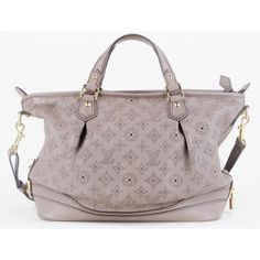 Louis Vuitton Stellar PM Poudre Mahina Leather Bag | Used Louis Vuitton Leather Purse