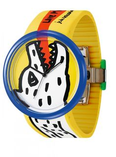 https://www.cityblis.com/2069/item/15359 | JC04-4 - $125 by odm | Famous French fashion designer Jean Charles de Castelbajac (JCDC) loves art and enjoys playing art design,sparkles the idea of drawing on the wrist!Using the timepiece dial as the canvas and the case mirror as frame, an art piece is ready on the wrist! JCDC x odm proudly presents the latest art ... | #Watches