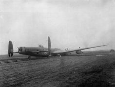 Stunning Lancaster crashed on a foggy morning at Fiskerton