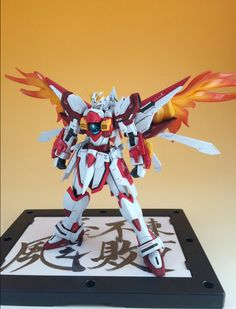 GUNDAM GUY: HG 1/144 God Gundam Ten Ootori - Custom Build
