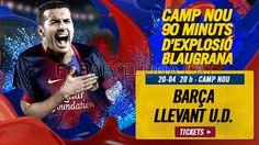 Tickets FCB - Llevant U.D #FCBarcelona #Tickets #CampNou #Game #Match