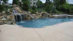 backyard inground pool ideas | ... NJ & PA | Custom Pools | Walkways | Patios | Fence Companies | Decks