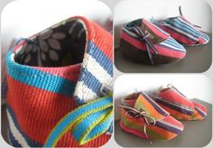 chausson 6/9 mois espadrille, baby shoes basque canvas, Fee Home, A Little Market