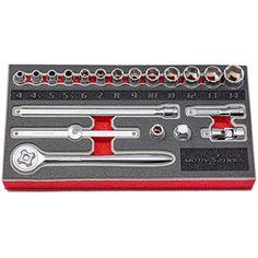 Neiko Pro 01143B 1//2 Drive XZN Triple Square Spline Driver Impact Socket Set Cr-Mo Steel Metric   8 Piece Set M5 - M16