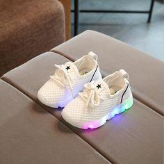 Light Led Kids Shoes Luminous