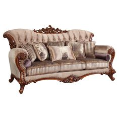 Meridian Furniture Bordeaux Sofa The Bordeaux living room collection is an impeccable example of truly memorable, opulent traditional design. Your living Steel Furniture, Sofa Furniture, Furniture Deals, Living Room Furniture, Bordeaux, Victorian Sofa, Victorian Furniture, Luxury Italian Furniture, Meridian Furniture