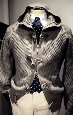 Gentle Fashion Sweater matches the Ties #men #fashion