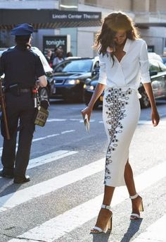 just so epically stunning. #LiyaKebede #offduty in NYC.