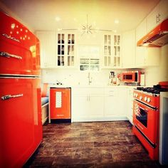 A full suite of Big Chill products all in orange that show off the retro feel of…