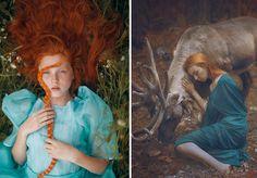 Fotos da fotógrafa Katerina Plotnikova. Imagens em leituras visuais com um aspecto fantástico, surreal e por vezes místico.  https://www.facebook.com/katerina.plotnikova