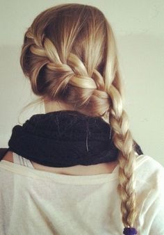 French side braid
