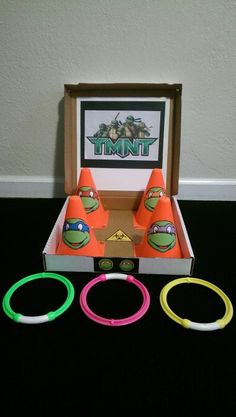 Ninja turtle ring toss