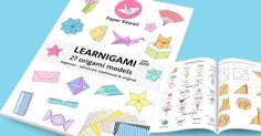 FREE download of Paper Kawaii's origami ebook with 27 fun origami models! Great for beginners to advanced. Get it FREE here!