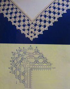 Breathtaking Crochet So You Can Comprehend Patterns Ideas. Stupefying Crochet So You Can Comprehend Patterns Ideas. Crochet Boarders, Crochet Edging Patterns, Crochet Lace Edging, Crochet Diagram, Lace Patterns, Crochet Chart, Love Crochet, Learn To Crochet, Crochet Designs