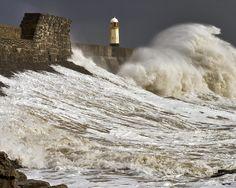 porthcawl pier wave dark skies IMG_1384 | Flickr - Photo Sharing!