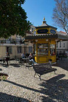 Largo da Sé, Lisbon, Portugal.