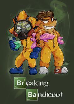 reddit: Crash Bandicoot