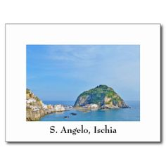 Shop Ischia, Sant Angelo - Postcard created by stdjura. Souvenirs From Italy, Mediterranean Sea, Europe, Island, Water, Photography, Outdoor, Block Island, Gripe Water