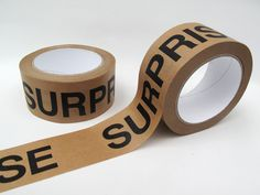 50 Meter, 5 cm Papierklebeband 'SURPRISE' von pi pa pur ... auf DaWanda.com