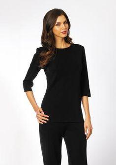 Lottie Tee in  Long Sleeve by Misook on CurvyMarket.com Plus Size