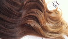 "Toffee Cappuccino Ombre Hair,Dark Brown with a slow fade to caramel and toffee, 22"", Custom Your Color*****WANT!!!"