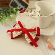 Bow Ribbons and Lace - Moño cintas y encajes lace, cinta, bow ties, bow ribbon, ribbons, crochet bows, laço, gancho, hair bow