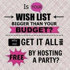 Want Free makeup ? Host a Party it's Free share your link earn Points. Free…