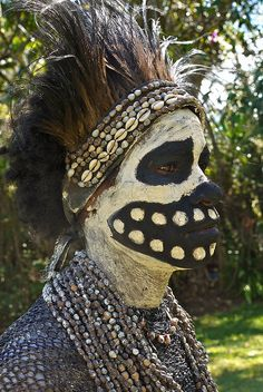 Skeleton tribe - Chimbu | Flickr - Photo Sharing!